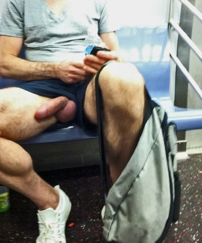 Cock On Bus
