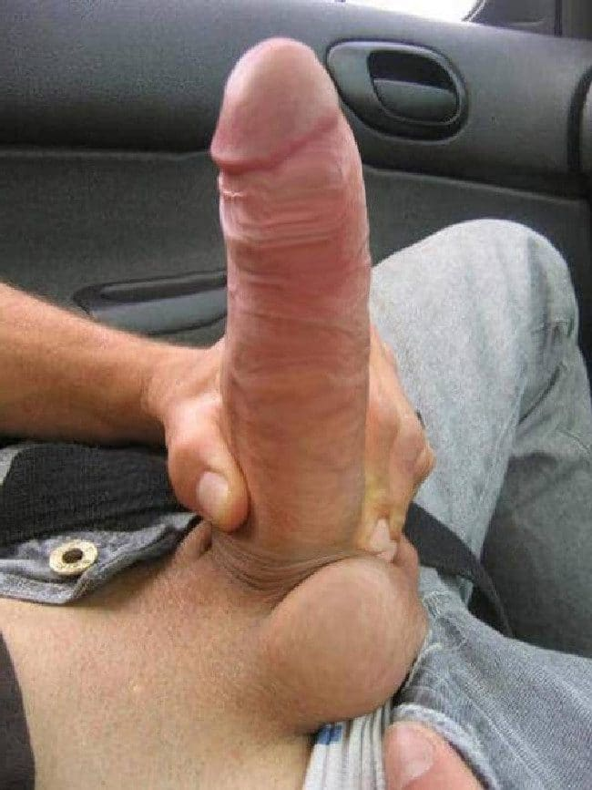 Cock Out In Car