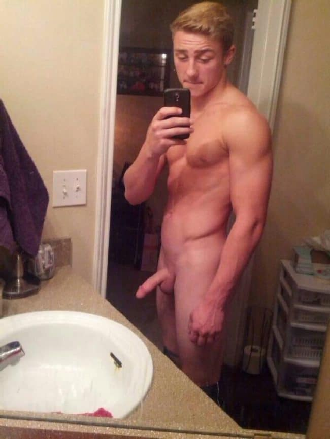 Fit Nude Guy