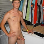 Nude Man With A Hard Cut Penis