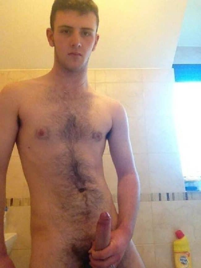 Nude Hairy Boy
