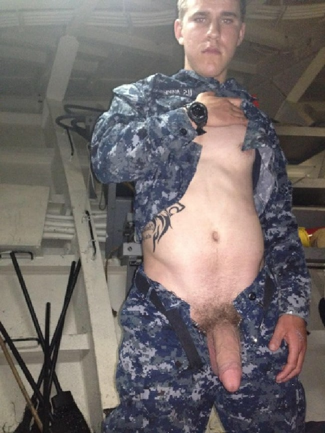 gay military big black cock