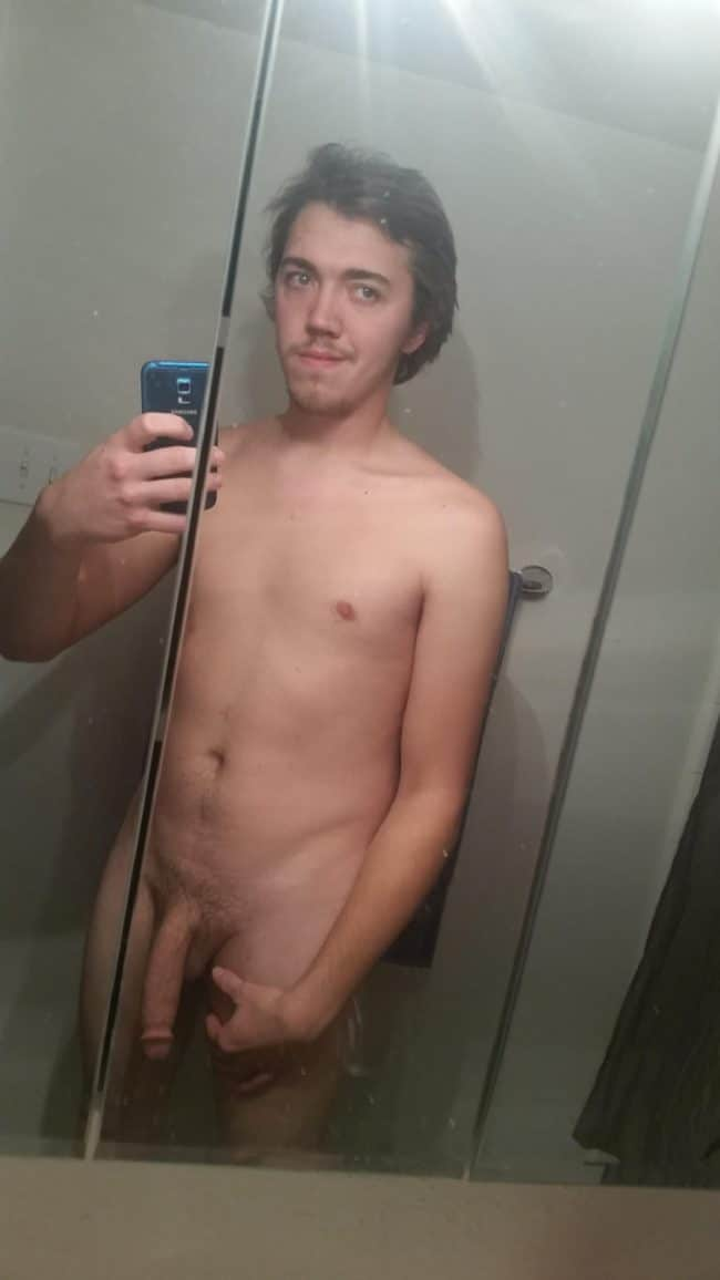 Nude Hung Man